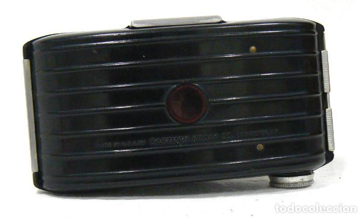 Cámara de fotos: Antigua y pequeña Cámara fotográfica Kodak Bullet .Para negativo 127 USA 1936 - Foto 7 - 142813246