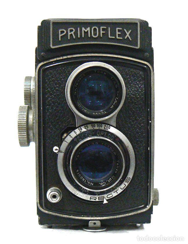 ANTIGUA Y RARA CÁMARA FOTOGRÁFICA PRIMOFLEX TLR REFLEX 6X6 (Cámaras Fotográficas - Antiguas (hasta 1950))