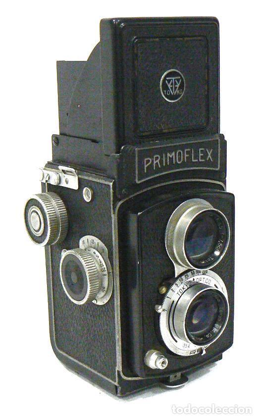 Cámara de fotos: Antigua y rara cámara fotográfica PRIMOFLEX TLR REFLEX 6x6 - Foto 2 - 142816398