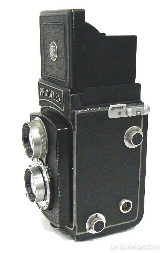 Cámara de fotos: Antigua y rara cámara fotográfica PRIMOFLEX TLR REFLEX 6x6 - Foto 3 - 142816398