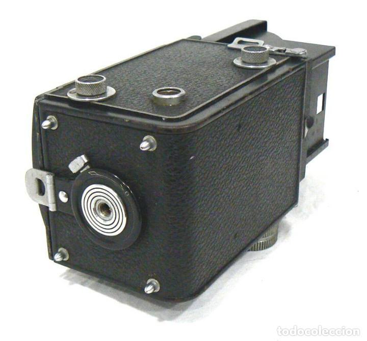 Cámara de fotos: Antigua y rara cámara fotográfica PRIMOFLEX TLR REFLEX 6x6 - Foto 4 - 142816398