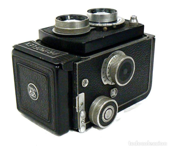 Cámara de fotos: Antigua y rara cámara fotográfica PRIMOFLEX TLR REFLEX 6x6 - Foto 5 - 142816398