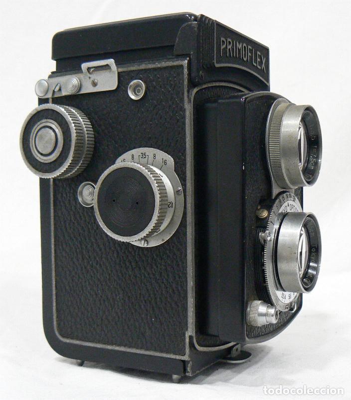 Cámara de fotos: Antigua y rara cámara fotográfica PRIMOFLEX TLR REFLEX 6x6 - Foto 7 - 142816398