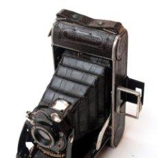 Cámara de fotos: *C1930* • VOIGTLÄNDER BESSA VOIGTAR F6.3 • GAUTHIER PRONTO, FORMATO MEDIO FOLDING 6X9 (FUNDA). Lote 142931482
