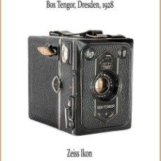 Cámara de fotos - ZEISS IKON BOX TENGOR (VERSION 54/2) CAMARA DE CAJA ALEMANA, MEDIO FORMATO. EN BUENAS CONDICIONES. - 143275726