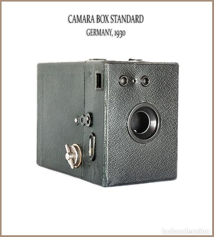 CAMARA BOX STANDARD. FORMATO 6X9 FABRICADA EN ALEMANIA. MUY BUEN ESTADO. (Cámaras Fotográficas - Antiguas (hasta 1950))