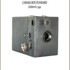 Cámara de fotos: CAMARA BOX STANDARD. FORMATO 6X9 FABRICADA EN ALEMANIA. MUY BUEN ESTADO.. Lote 143396574
