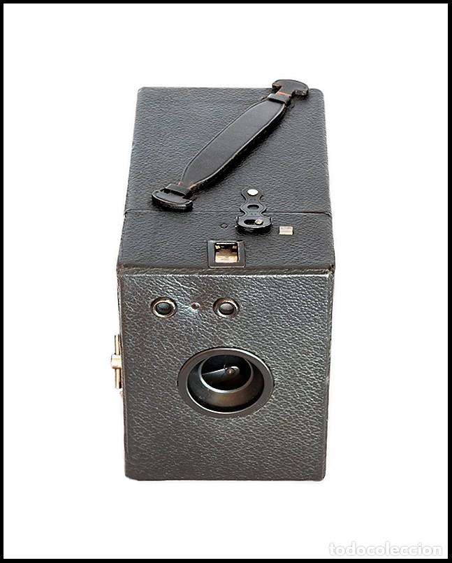 Cámara de fotos: CAMARA BOX STANDARD. FORMATO 6X9 FABRICADA EN ALEMANIA. MUY BUEN ESTADO. - Foto 3 - 143396574