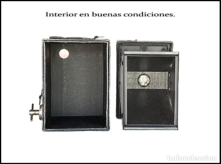 Cámara de fotos: CAMARA BOX STANDARD. FORMATO 6X9 FABRICADA EN ALEMANIA. MUY BUEN ESTADO. - Foto 4 - 143396574