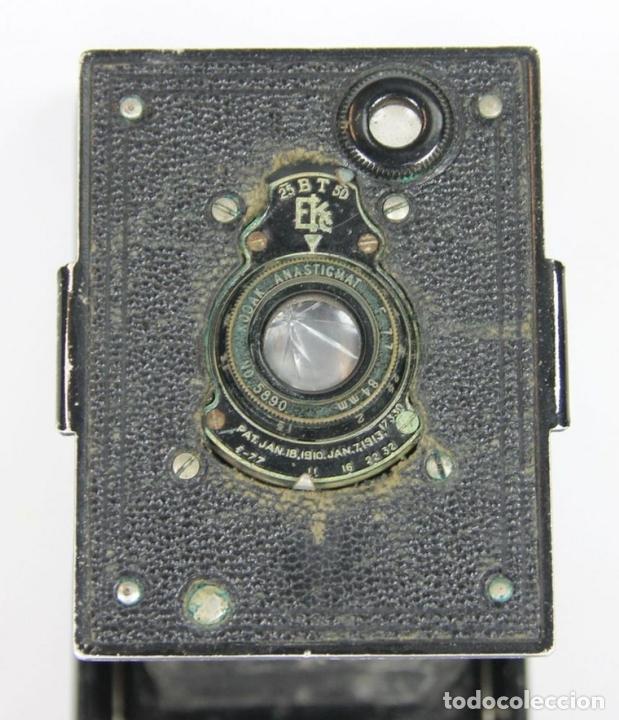 Cámara de fotos: CAMARA VEST POCKET KODAK. EASTMAN KODAK. MADE IN USA. 1921. - Foto 2 - 143598022