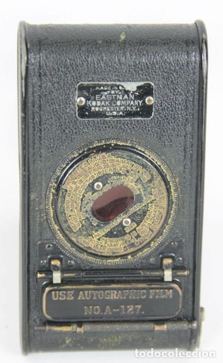 Cámara de fotos: CAMARA VEST POCKET KODAK. EASTMAN KODAK. MADE IN USA. 1921. - Foto 4 - 143598022