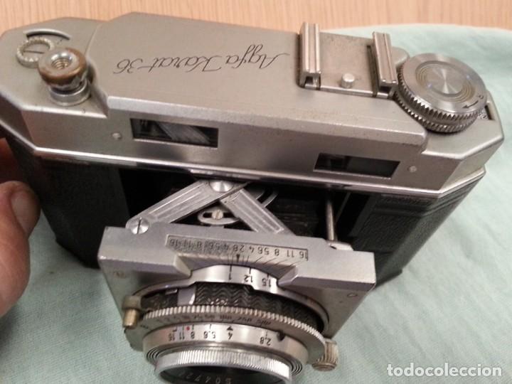 Cámara de fotos: Cámara de fotos AGFA KARAT 36. Años 50. Origen alemán. Buen estado. - Foto 3 - 143614098