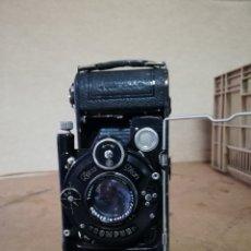 Cámara de fotos: ANTIGUA CÁMARA DE FOTOS DE FUELLE ZEISS. Lote 143937650