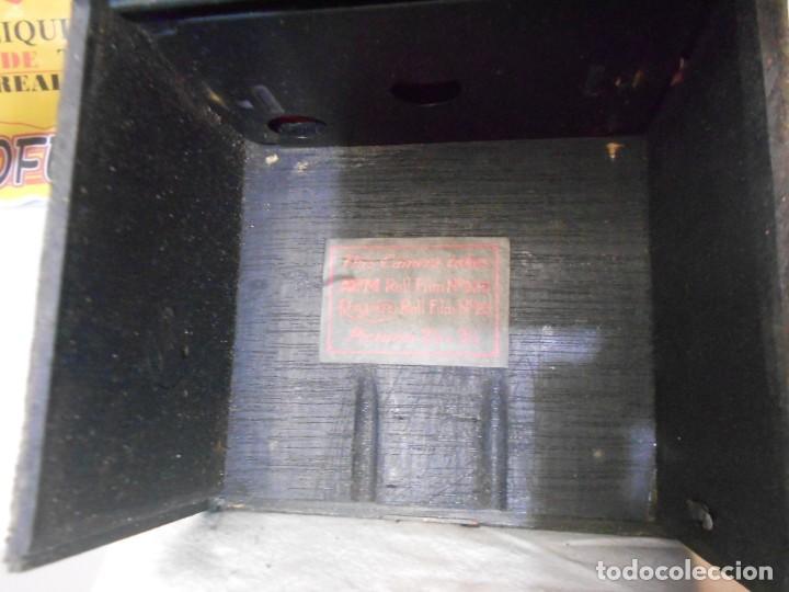 Cámara de fotos: RAREZA ABSOLUTA CÁMARA APM + FUNDA + MUY RARA +.TOTALMENTE EN MADERA EN ÓPTIMO ESTADO ESTÉTICO - Foto 19 - 144293046