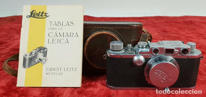 CAMÁRA FOTOGRAFICA LEICA IIIA. MODELO G. ACABADO CROMO. ALEMANIA. CIRCA 1936. (Cámaras Fotográficas - Antiguas (hasta 1950))