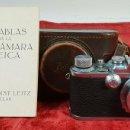 Cámara de fotos: CAMÁRA FOTOGRAFICA LEICA IIIA. MODELO G. ACABADO CROMO. ALEMANIA. CIRCA 1936.. Lote 144429442