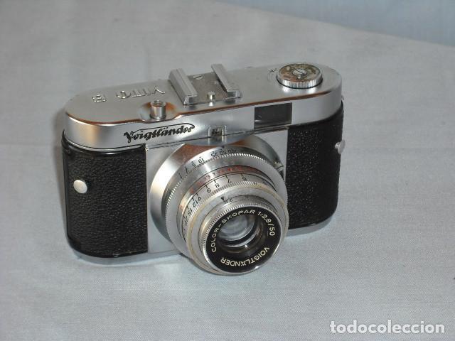 CAMARA DE FOTOS VOIGLLANDER MODELO VITO B (Cámaras Fotográficas - Antiguas (hasta 1950))