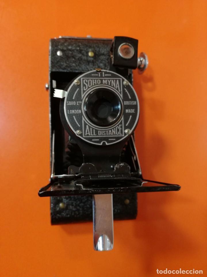 Cámara de fotos: Camara vintage de fuelle Soho Myna All Distance Camera de fotos antigua plegable - Foto 9 - 144930270