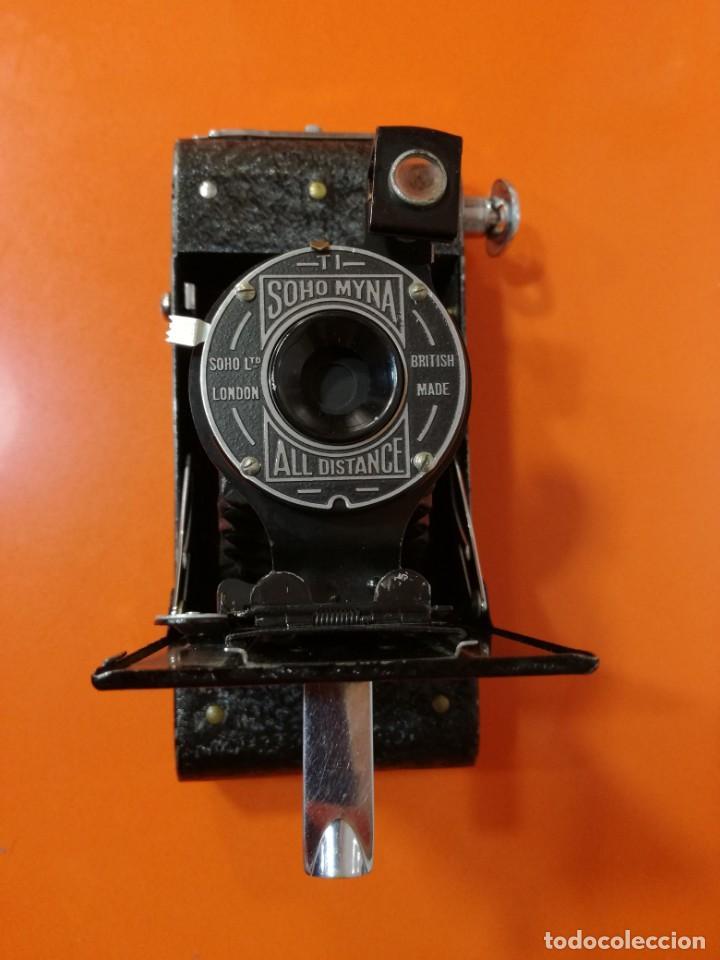 Cámara de fotos: Camara vintage de fuelle Soho Myna All Distance Camera de fotos antigua plegable - Foto 10 - 144930270