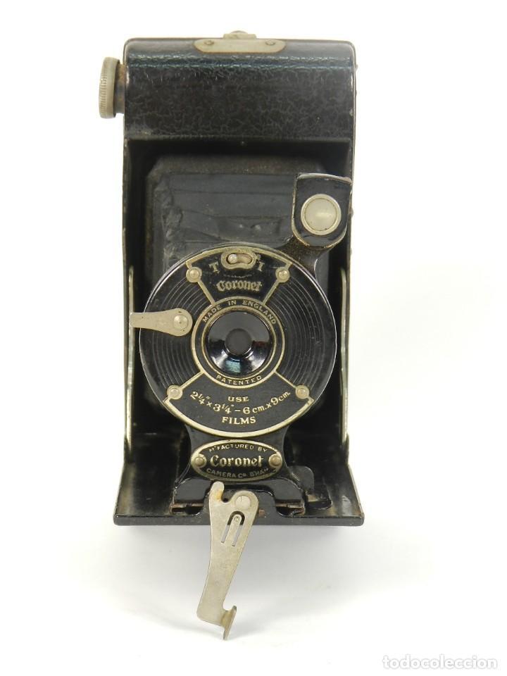 Cámara de fotos: CÁMARA DE FOTOS DE FUELLE CORONET AÑO 1930 - Foto 3 - 144932930