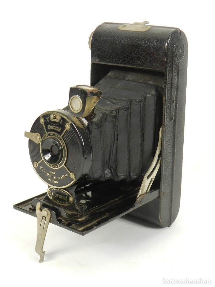 Cámara de fotos: CÁMARA DE FOTOS DE FUELLE CORONET AÑO 1930 - Foto 5 - 144932930