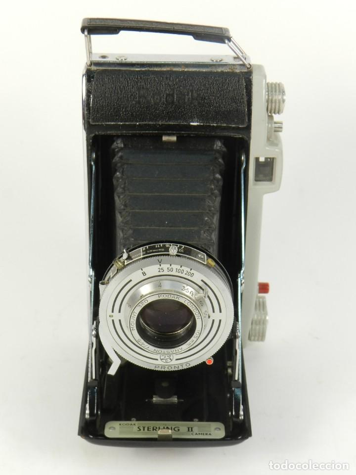 Cámara de fotos: CÁMARA FOTOGRAFICA KODAK STERLING II AÑO 1955 - Foto 3 - 144940650