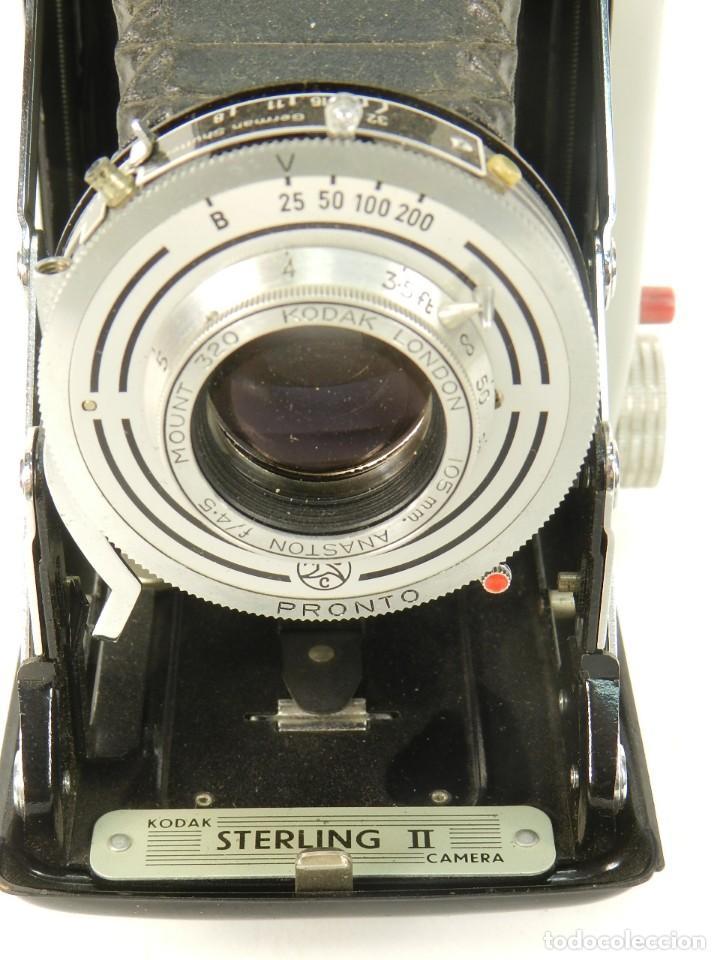 Cámara de fotos: CÁMARA FOTOGRAFICA KODAK STERLING II AÑO 1955 - Foto 4 - 144940650