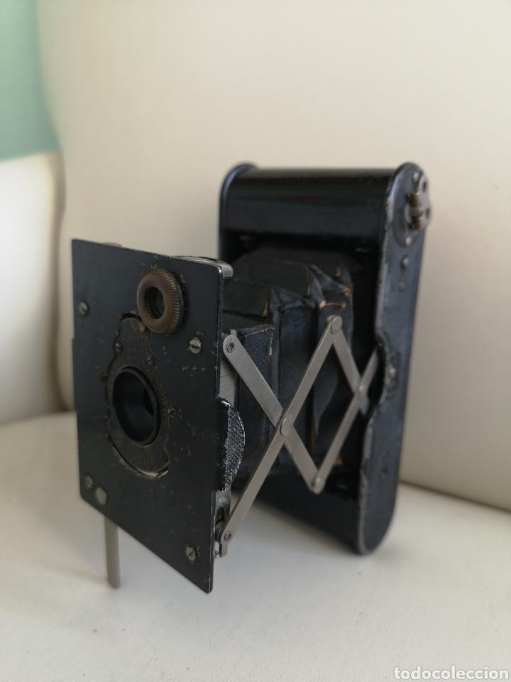 CÁMARA DE FUELLE ANTIGUA KODAK VEST POCKET AUTOGRAPHIC (Cámaras Fotográficas - Antiguas (hasta 1950))
