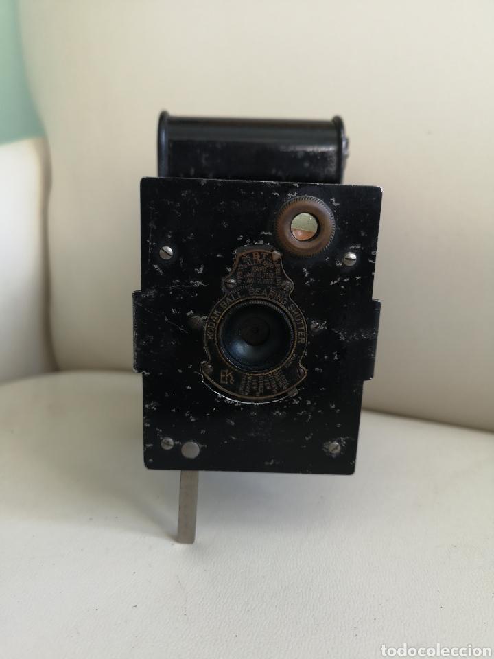Cámara de fotos: Cámara de fuelle antigua Kodak Vest Pocket Autographic - Foto 2 - 146239192