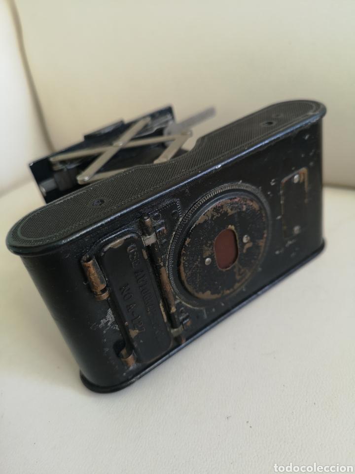 Cámara de fotos: Cámara de fuelle antigua Kodak Vest Pocket Autographic - Foto 6 - 146239192