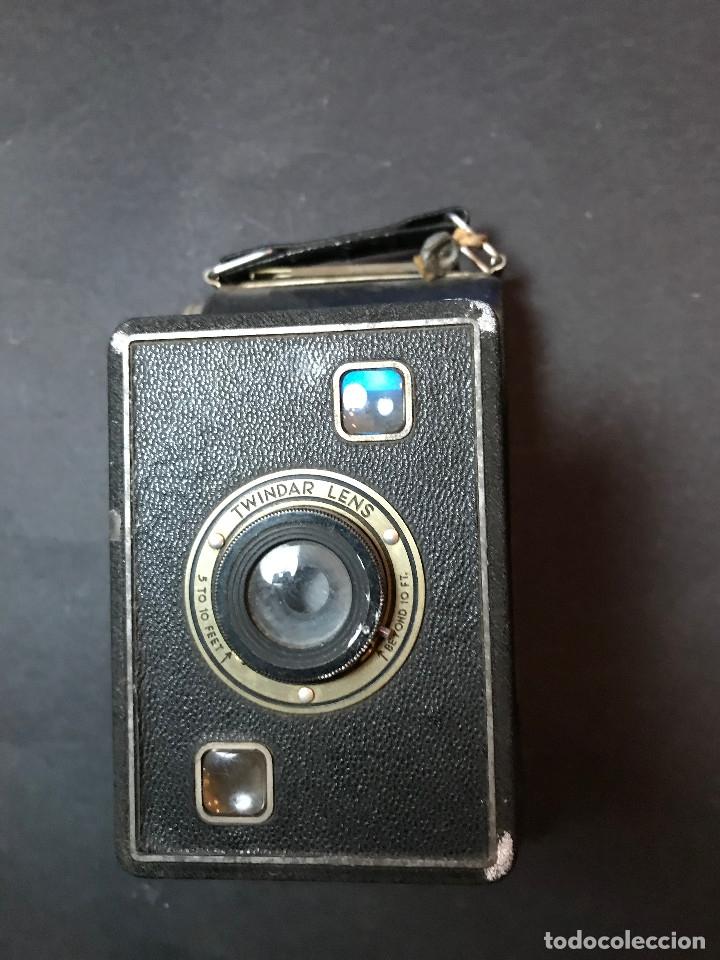 Cámara de fotos: Cámara fotográfica de fuelle Kodak Twindar Lens. Años treinta. - Foto 3 - 146543942