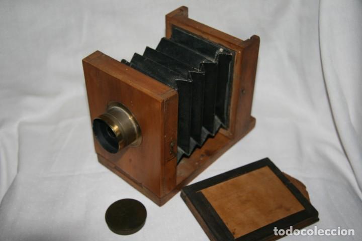 CAMARA DE MADERA (Cameras - Antique Cameras (until 1950))