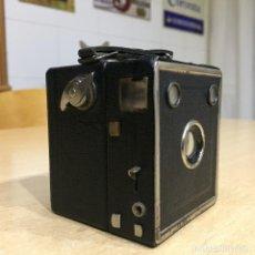 Cámara de fotos: EHO BABY BOX CÁMARA MINIATURA DE 3X4 DEL AÑO 1932. Lote 147799270