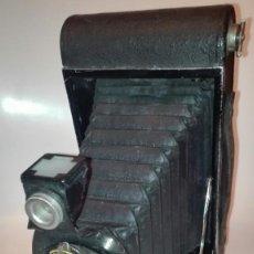 Cámara de fotos: ANTIGUA CÁMARA ,N°3 FOLDING AUTOGRAPHIC BROWNIE, U.S.A 1915. Lote 147970710