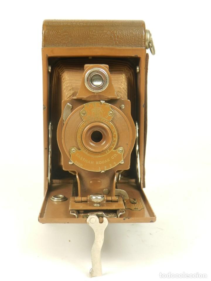 KODAK RAINBOW HAWKEYE Nº2 FOLDING MODEL B (Cámaras Fotográficas - Antiguas (hasta 1950))