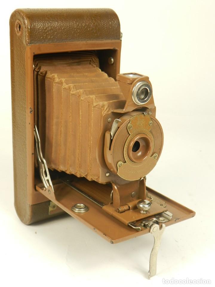 Cámara de fotos: KODAK RAINBOW HAWKEYE Nº2 FOLDING MODEL B - Foto 2 - 148193470