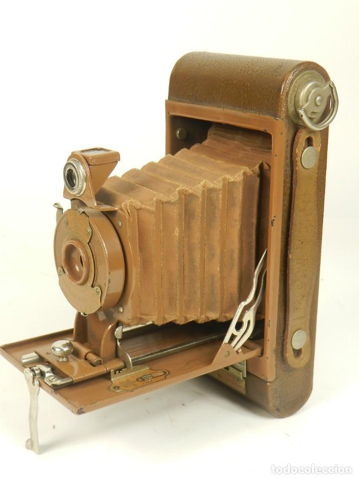Cámara de fotos: KODAK RAINBOW HAWKEYE Nº2 FOLDING MODEL B - Foto 3 - 148193470