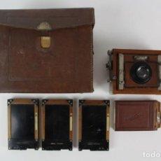 Cámara de fotos: CAMARA DE FOTOS.MARCA COMTESSA- NETTEL.MODELO DECKRULLO NETTEL TROPEN ALEMANIA AÑOS 1910-1930.. Lote 148302966