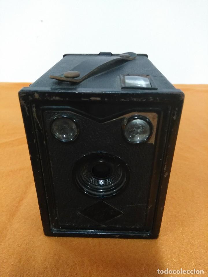 ANTIGUA CAMARA DE CAJON AGFA (Cámaras Fotográficas - Antiguas (hasta 1950))