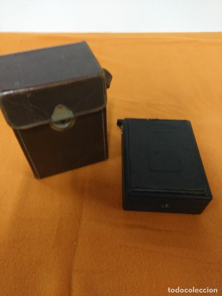 Cámara de fotos: antigua camara de fotos de fuelle vario con portafotografias de cajon - Foto 9 - 148807178