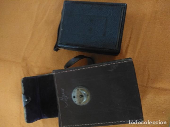 Cámara de fotos: antigua camara de fotos de fuelle vario con portafotografias de cajon - Foto 10 - 148807178