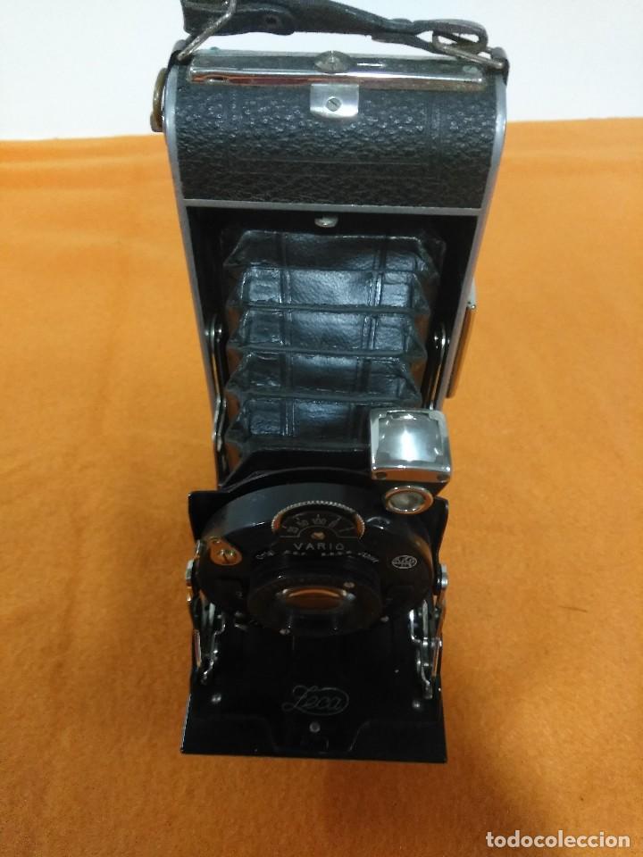 Cámara de fotos: antigua camara de fotos de fuelle vario - Foto 2 - 148828774