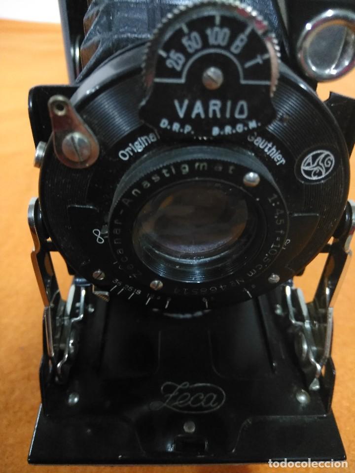 Cámara de fotos: antigua camara de fotos de fuelle vario - Foto 7 - 148828774
