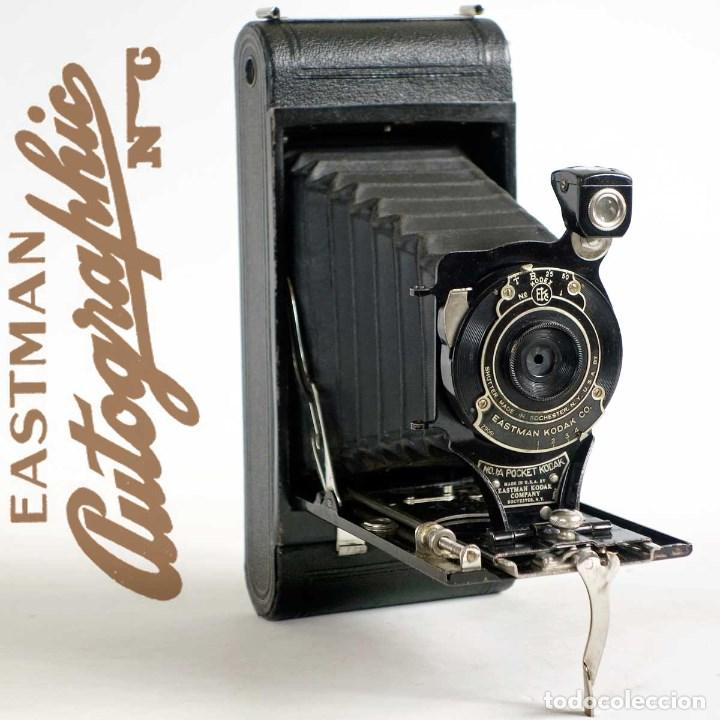 ANTIGUA CÁMARA FUELLE KODAK NO 1A POCKET. AÑOS 20 USA (Cámaras Fotográficas - Antiguas (hasta 1950))