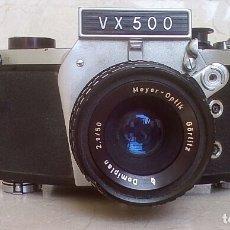 Cámara de fotos: CÁMARA EXAKTA VX 500. Lote 142467798