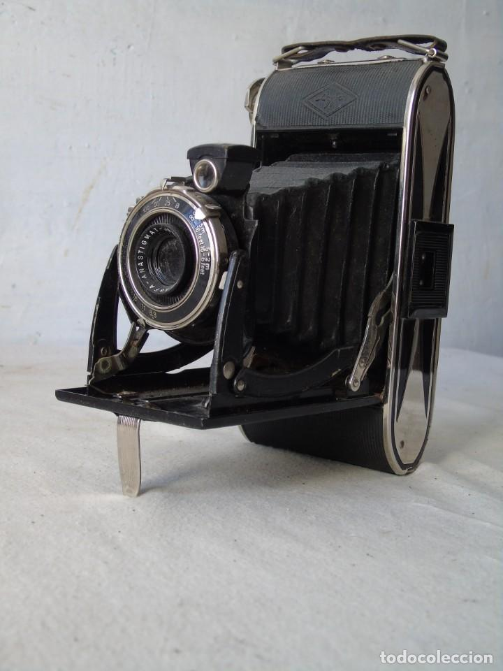CAMARA FOTO AGFA FUELLE (Cámaras Fotográficas - Antiguas (hasta 1950))