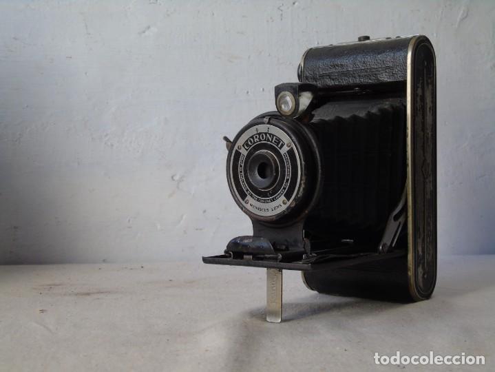 CAMARA FOTO FUELLE CORONET (Cámaras Fotográficas - Antiguas (hasta 1950))