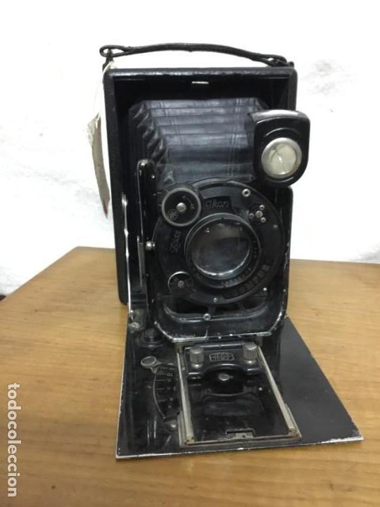 Cámara de fotos: CAMARA FOTOGRAFICA DE FUELLE ZEISS IKON COMPUR RAPID. AÑOS 30/40 - Foto 10 - 151494598