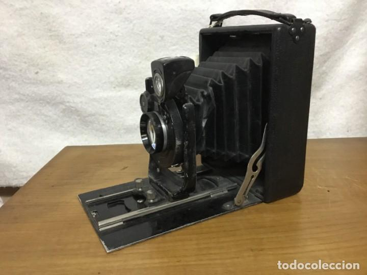 Cámara de fotos: CAMARA FOTOGRAFICA DE FUELLE ZEISS IKON COMPUR RAPID. AÑOS 30/40 - Foto 11 - 151494598