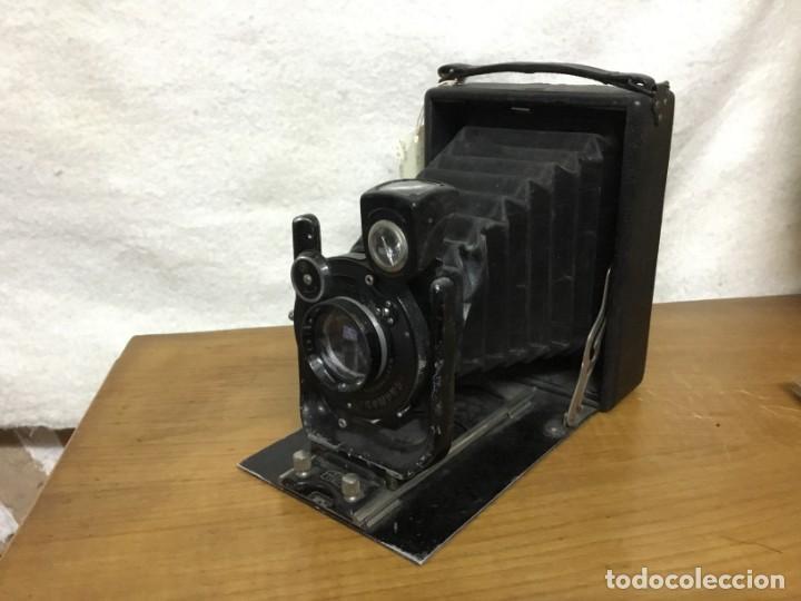 CAMARA FOTOGRAFICA DE FUELLE ZEISS IKON COMPUR RAPID. AÑOS 30/40 (Cámaras Fotográficas - Antiguas (hasta 1950))